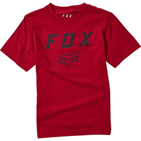 Fox Legacy SS Tee Youth, chili